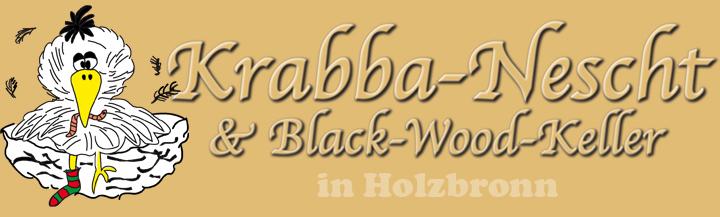 Krabba-Nescht Holzbronn Logo